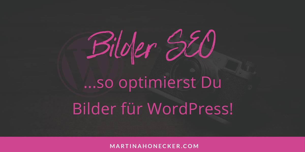 Bilder SEO WordPress