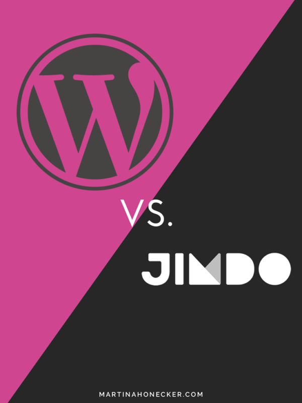 WordPress vs. Jimdo