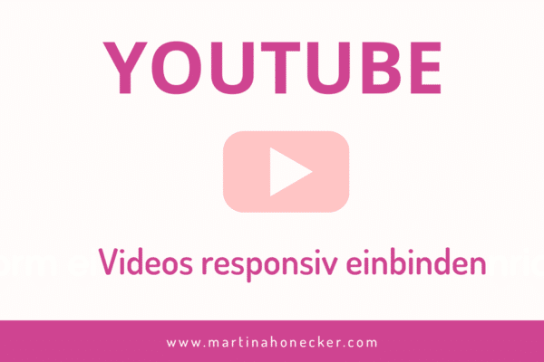 YouTube Videos responsive einbinden